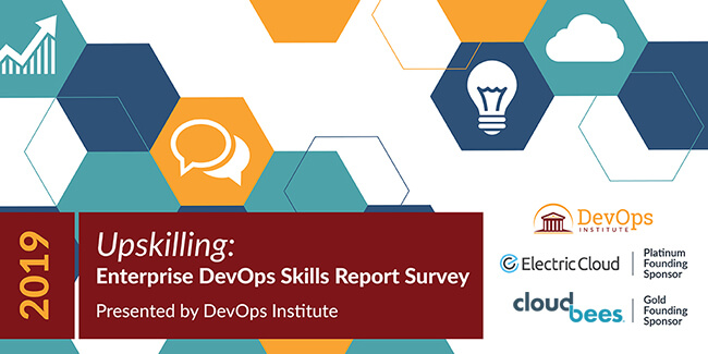 The DevOps Institute Fields The '2019 Upskilling: Enterprise DevOps Skills Report' Survey