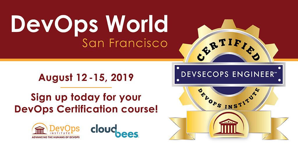 DevOps Institute Named Continuous Learning Track Sponsor of DevOps World | Jenkins World 2019