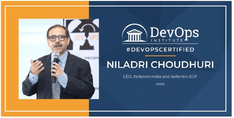 DevOps Institute Certification Spotlight with Niladri Choudhuri