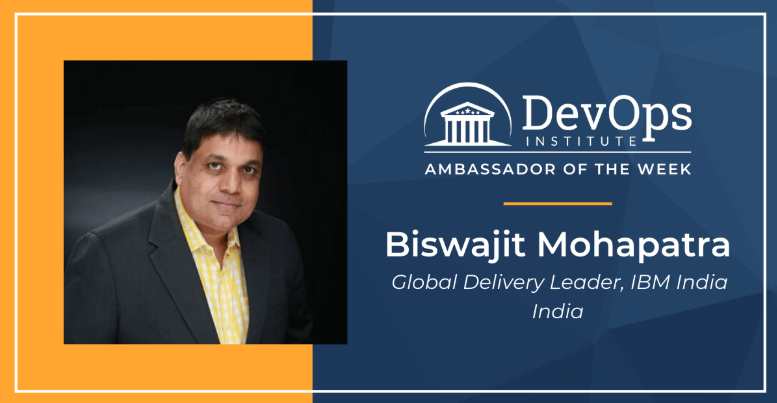 Featured DevOps Institute Global Ambassador: Biswajit Mohapatra