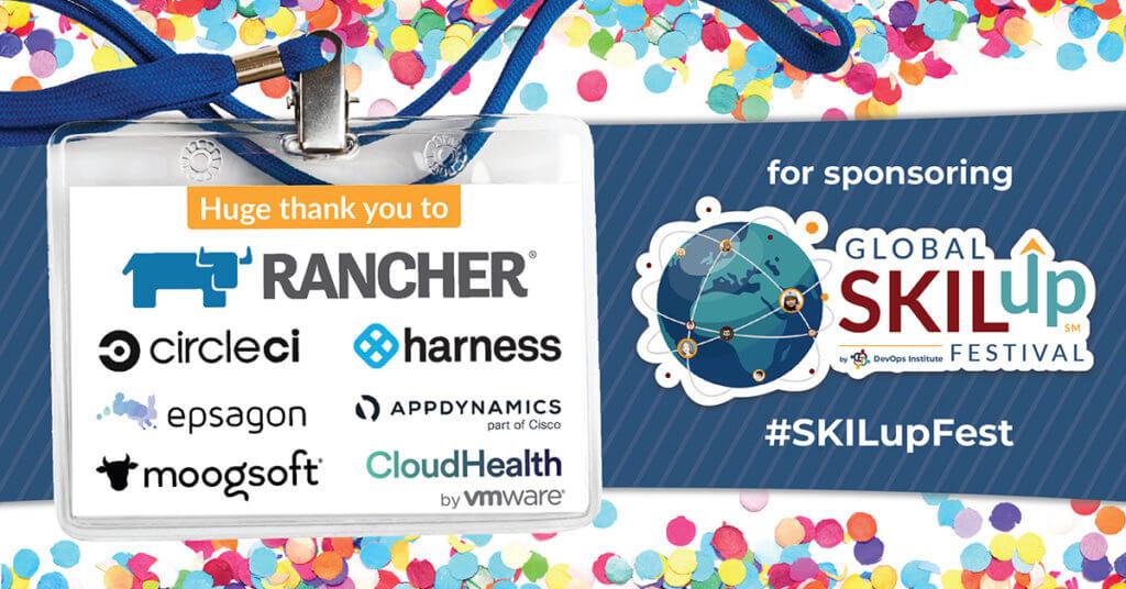 Global SKILup Festival 2020 Sponsors
