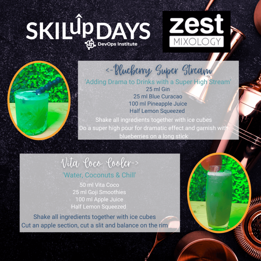 Zest Mixology at SKILup Day VSM