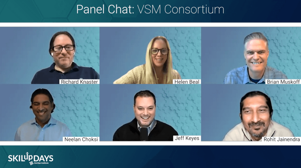 VSM Consortium Panel at SKILup Day VSM